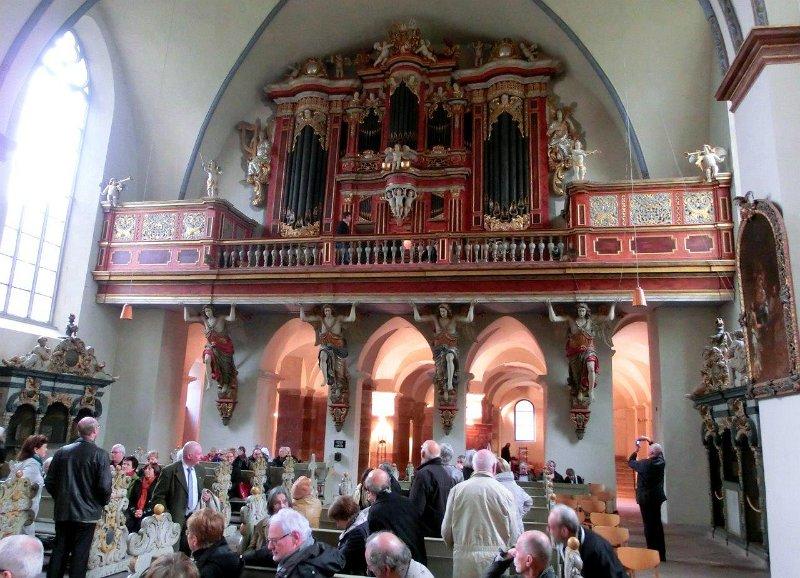 Orgelfahrt 2014 - Dom zu Paderborn, Weltkulturerbe Schloß
